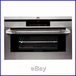 Ex Display AEG KB9800EM 60cm Compact Electric Built In Single Oven