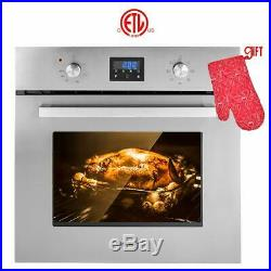 Gasland Chef ES609DS 24 Built-in Single Wall Oven with 9 Cooking Function