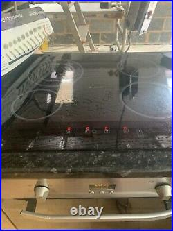 HOTPOINT 60cm Built-in Single Electric Fan Oven, Ceramic Hob & Hood Pack