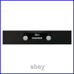 Hisense 71L Multifunction Electric Single Oven Black
