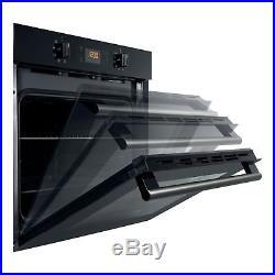 Hotpoint SH33KS Single Electric Fan Built-in Oven Black
