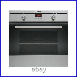 Indesit Built In FIM33K. AIXGB 60cm Electric Oven Stainless Steel