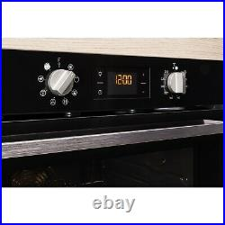 Indesit IFW6340BLUK Eight Function Electric Built-in Single Oven Black