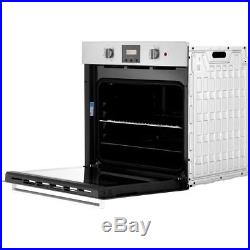 Indesit IFW65Y0IX Aria Built In 60cm Electric Single Oven Stainless Steel New