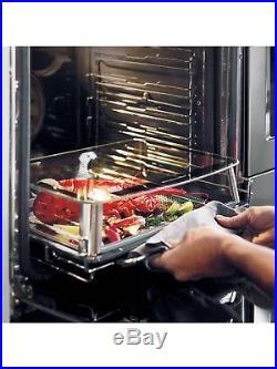 KitchenAid KOASP Twelix Artisan Single Oven, Stainless Steel
