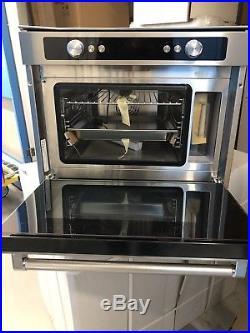 KitchenAid KOQCX45600 Built-In Multifunction Single Oven, S/Steel (Ex-display)