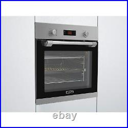 Leisure POIM52300XP Electric Single Oven With Pyrolytic Cleaning S POIM52300XP