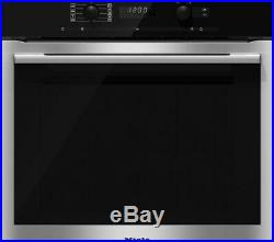 MIELE H6160B CleanSteel Integrated Built In Single Oven, RRP £1090