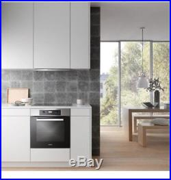Miele H2265BP Discovery Built-In Pyrolytic Single Oven, Clean Steel Z 4191095