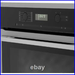 Miele H6160BCLST Built in Single Electric Moisture Plus Oven Clean Steel FB0015