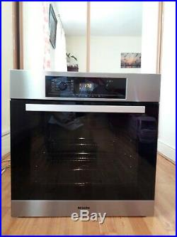 Miele HB5240B multifunction single electric oven built in Stainless Steel 60cm