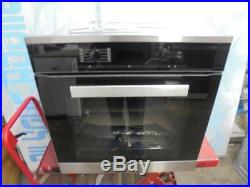 Miele PureLine H6260B CleanSteel Single Built In Electric Oven HA2586