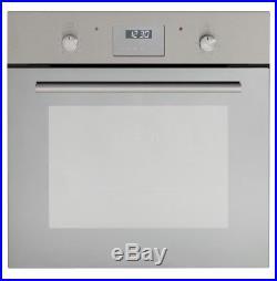 MyAppliances REF28766 Built-in Single Electric Fan Oven Mirror Finish Glass
