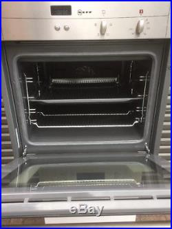 NEFF B12S32N3GB Built-in Single Electric Oven. RRP £449 Ex-display