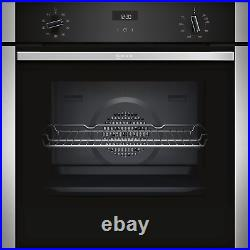 NEFF B1ACE4HN0B N50 6 Function Single Oven With Catalytic Cleaning B1ACE4HN0B