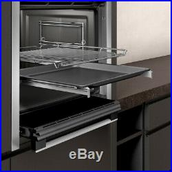 NEFF B3ACE4HN0B N50 Slide&Hide Built In 59cm A Electric Single Oven Stainless
