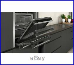 NEFF B44S32N5GB Slide & Hide Electric Built-in single Oven Stainless Steel