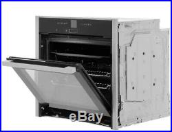 NEFF B57CR22N0B N70 Slide&Hide Built In 60cm A+ Electric Single Oven Stainless