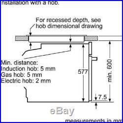 NEFF B57CR22N0B N70 Slide&Hide Built In 60cm Electric Single Oven Stainless