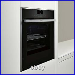 NEFF B57VS24H0B N90 Slide&Hide Built In 60cm A Electric Single Oven Stainless