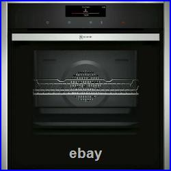 NEFF B58CT68H0B N90 Slide&Hide Built In 60cm A Electric Single Oven Stainless S