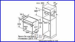 NEFF B6ACH7HN0B N50 Built In Slide & Hide CircoTherm Single Oven -Ex Display