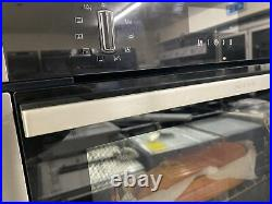 NEFF B6ACH7HN0B N50 Slide&Hide Built In 59cm A Electric Single Oven Stainless