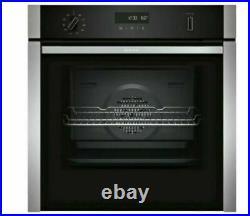 NEFF B6ACH7HN0B Slide&Hide Built in Electric Single Oven