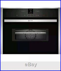 NEFF C17MR02N0B N70 Built In 60cm Electric Single Oven Stainless Steel New
