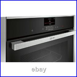 NEFF C27CS22H0B N90 Built In 60cm A+ Electric Single Oven Stainless Steel New