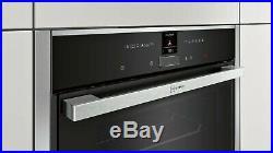 NEFF N70 B47CR32N0B Slide&Hide Integrated Built In Single Oven, RRP £749