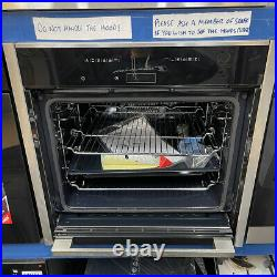 NEFF N70 Slide&Hide B57CR22N0B Built-In Electric Single Oven A+ Rated SS