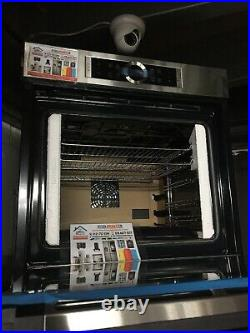 NEW BOSCH 71L Serie8 HBG634BS1B BUILT IN SINGLE ELECTRIC OVEN STAINLESS STEEL A+