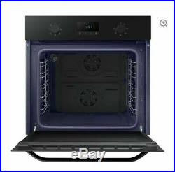 NEW Samsung DualCook NV70K1340BB Built In Single Electric Oven Black Catalytic