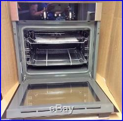 Neff B14M42N5GB Electric Single Oven with 66L Capacity in Stainless Steel