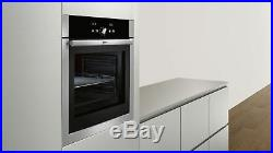 Neff B14P42N5GB Single Electric Oven, Stainless Steel