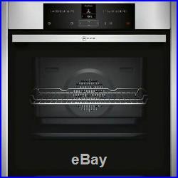 Neff B25CR22N1B EasyClean Pyrolytic Single Electric Oven, Stainless Steel