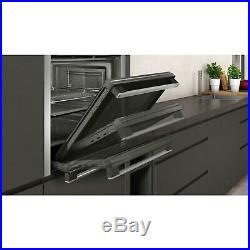 Neff B3ACE4HN0B Slide & Hide Built In 60cm Stainless Single Oven £70 Cashback