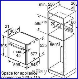 Neff B47CR32N0B Slide & Hide Built In Single Oven HW172066