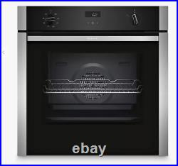 Neff B4ACF1AN0B Slide and Hide Built-In Single Oven RRP 749 LONDON COLLECTION