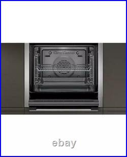 Neff B6CCG7AN0B Built-In Pyrolytic Slide and Hide Single Oven A Energy Rating