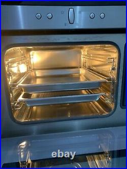 Neff C47D22N3GB Compact Steam Built-in Single Oven Brushed Steel