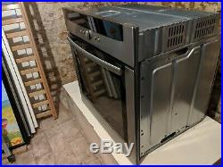 Neff Multifunction Electric Single Oven, Grill Built In Under Stainless Steel