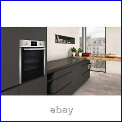 Neff N30 Slide & Hide Pyrolytic Self Cleaning Electric Single Oven with Added St