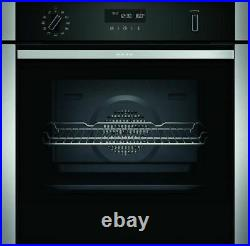 Neff N50 B2ACH7HH0B Single Built In Electric Oven, Stainless Steel