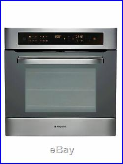 New Hotpoint SH103P0X Ultima Electric Built-in Single Oven Stainless Steel