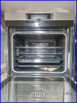 New Unboxed AEG, BPK842720M, Built In Pyrolytic Single Oven