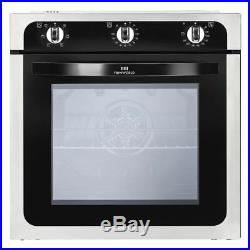New World NW602F 444444669 Single Built In Electric Oven, Stainless Steel