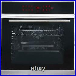 Pyrolytic Self Cleaning Built-in 76L Single Oven, 13 Functions SIA BISO12PSS