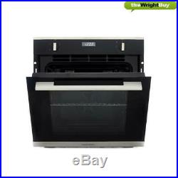 Rangemaster RMB605BL/SS Stainless Steel Single Built In Electric Oven, 60cm